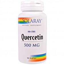 Кверцетин, Solaray, 500 мг, 90 вег. капсул