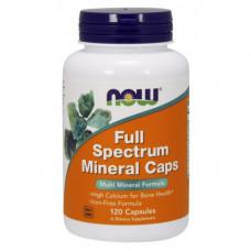 Мультиминералы Full Spectrum Caps NowFoods, 120 капсул