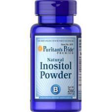 Инозитол - Bитамин Б8 (Inositol) Инозитол порошок Натурал Puritan's Pride (1000 мг)
