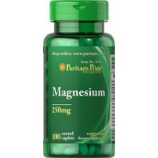 Магний Puritan's Pride 250 мг, 100 таблеток