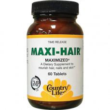 Витамины для волос ногтей  Maxi-Hair (60 таб)