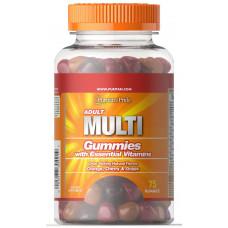 Мультивитамины для взрослых  Puritan's Prid 75 желейных таб.   пуританс прайд
