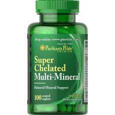 Минеральный комплекс Super Chelated Multi Mineral, 100 табл.