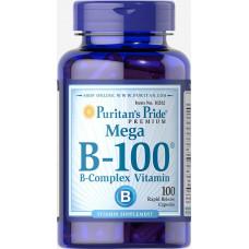 Комплекс витаминов группы В В complex Vitamin B-100 Complex 100таб