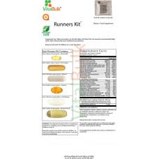 Мультивитамины и минералы VitalBulk Пакет витаминов для бегунов (Runners Kit Packet) 30 пакетов