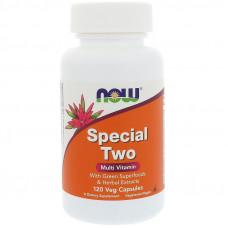Мультивитамины высокоактивные Now Foods Special Two  120 вегетарианских капсул нау фудс