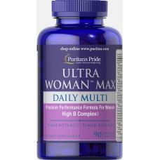 Витамины для женщин Puritan's Pride Ultra Woman Max 90 капс. Пуританс прайд