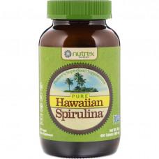 Nutrex Hawaii, Чистая гавайская тихоокеанская спирулина, природные мультивитамины, 500 мг, 400 таблеток