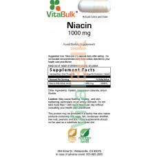 VitalBulk, Niacin 1000 mg. - 75 капс.
