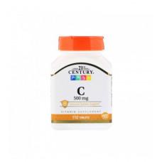 Витамин С 500 Vitamin C 21st Century Vitamin C 500mg 110tabs