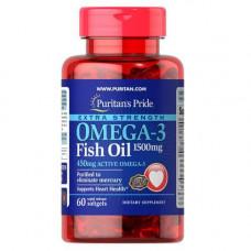 Puritan'sPride Omega-3 Fish Oil1500mg (60 капс)