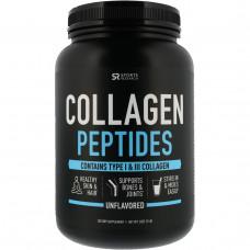 Sports Research, Коллагеновые пептиды, без вкусовых добавок, 32 унции (900гр)