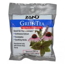 Растительные пастилки, Zand, Зеленый чай, 15 пастилок
