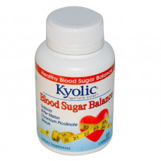 Kyolic, Экстракт выдержанного чеснока, для нормализации баланса сахара в крови, 100 капсул