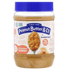 Peanut Butter & Co., 100% натуральное, хрустящее арахисовое масло по старинному рецепту, 16 унц. (454 г)