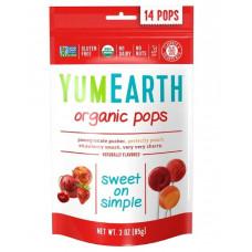 YumEarth, Органические фруктовые леденцы, 14 леденцов, 3 унции (85 г)