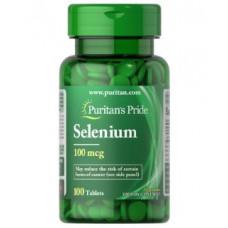 Селен Puritan's Pride100 мкг, 100 таблеток