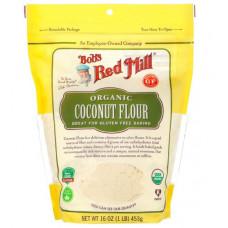 Bobs Red Mill, Органическая кокосовая мука, не содержит глютена, 16 унции (453 г)