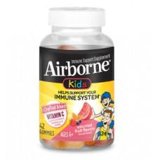 Поддержка иммунной системы, Airborne Kids®, Assorted Fruit - 42 шт.