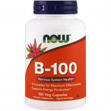 Комплекс витаминов группы В В complex Витамин В-100 Complex (100 капс.)