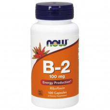 Витамин В2 Vitamin B2  Now Foods (100 мг) 100 таб.
