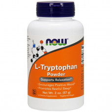 Now Foods, L-триптофан в порошке, 2 унции (57 г)