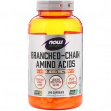 Now Foods, Аминокислоты с разветвленными цепями для спортсменов, 240 капсул