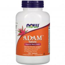 Витамины для мужчин Now Foods, Adam120 таблеток