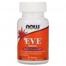 Витамины и минералы для женщин Now Foods EVE, 90 таблеток