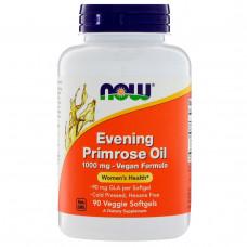Масло Примулы Вечерней 500 мг, Evening Primrose Now Foods 1000 мг, 90 капсул