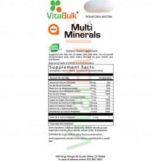 Мультиминералы VitalBulk, 200 таблеток