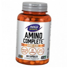 Now Foods, Sports, Amino Complete, 120 капсул