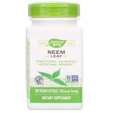 Лист нима,  Nature's Way, 950 мг, 100 веганских капсул