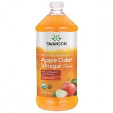 Swanson, Органический Яблочный уксус c мякотью (Apple Cider), 0.5 л