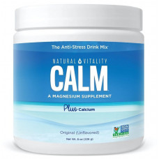 Natural Calm плюс кальций Natural Vitality, 226 г