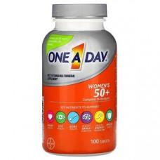 One-A-Day, для женщин 50+, полный мультивитаминный комплекс, 100 таблеток