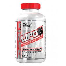 Nutrex Research  комплекс Lipo-6, 120 капсул