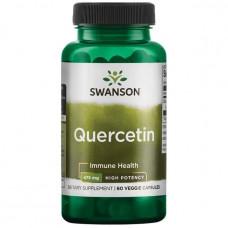 Swanson  Кварцетин Quercetin 475мг. 60 капс.