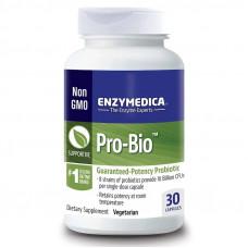 Enzymedica, Pro-Bio, пробиотик гарантированного действия 30 капсул