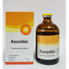 Аскорбик  Аскорбиновая кислота 10 гр. 100мл.