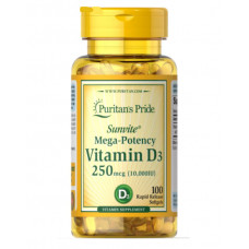 Витамин Д3  Vitamin D-3  10000 МЕ (200кап.)