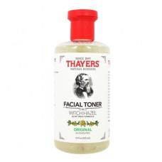 Тоник для лица Thayers, Witch Hazel Original Toner, тоник без спирта, с алоэ вера оригинальный (355 мл)