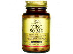 Цинк Solgar 50 мг, 100 таблеток