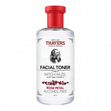 Тоник для лица Thayers, без спирта, с гамамелисом и алоэ вера, Rose Petal, (355 мл)