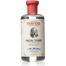 Тоник для лица Thayers, с Алоэ вера и гамамелисом, без спирта, без запаха,  355 мл