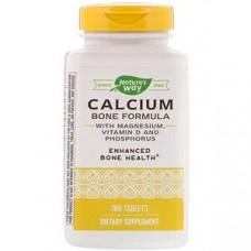 Формула из кальциевых костей с магнием, витамином D и фосфором Nature's Way, 180 таб.