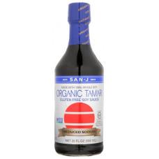 Соевый соус Тамари San-J Organic Reduced Sodium Tamari Soy Sauce Органический 592 мл