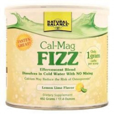 Напиток с кальцием и магнием FIZZ со вкусом лимона, 492 грамма