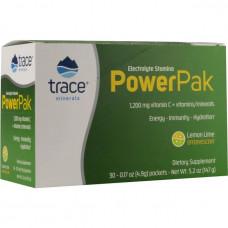 Электролиты - Микроэлементы Power Pak - Лимонный лайм 30 стиков