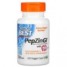 Doctors Best, Цинк-L-карнозин, комплекс с PepZin Gl